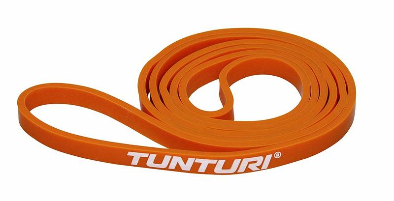 Силовая лента 13 мм Tunturi Power Band Extra Light Orange